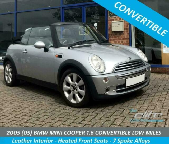 Mini Cabriolet 16 Convertible Low Miles Only 64000