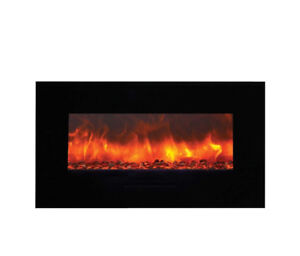 AMANTII BUILT-IN/WALL MOUNTED ELECTRIC FIREPLACE (WM-FM-34-4