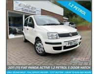 2011 Fiat Panda ACTIVE 1.2 30 ROAD TAX CITY BUTTON ELECTRIC WINDOWS ETC Hatchbac