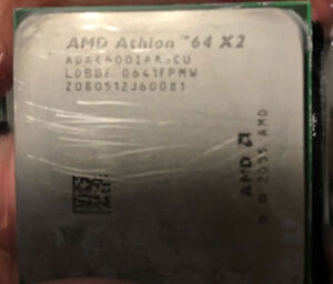 Athlon 64 X2 CPU with heatsink