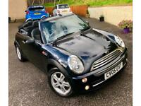 Mini Mini 1.6 ( Pepper ) One**Convertible**1OWNER FROM NEW,FSH,LEATHER,POWERHOOD