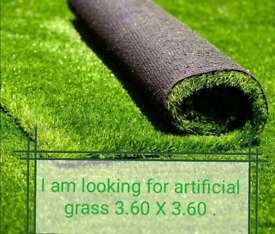 Will buy artificial grass