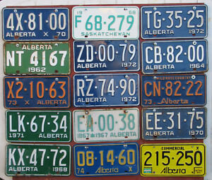 LICENSE PLATES for Sale