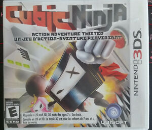 Cubic Ninja 3DS very good condition