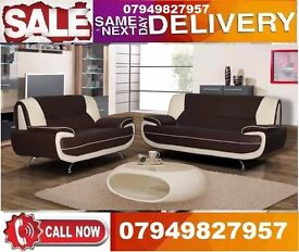 Italiaan 2 And 3 SEATTER Sofa available In Whiite/Black
