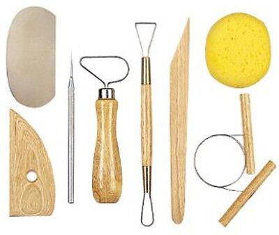 8-Piece Pottery Tool Set (ar18)
