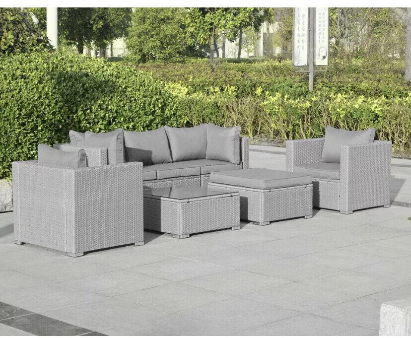 Garden Furniture - Rattan Garden furniture sofa corner sets Prices From £599