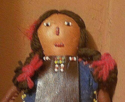 Vintage Eastern US Doll Native American Indian