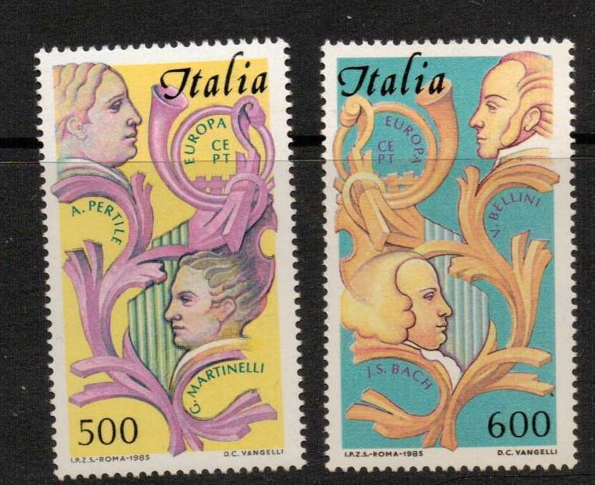 ITALY SG1887/8 1985 EUROPA MNH