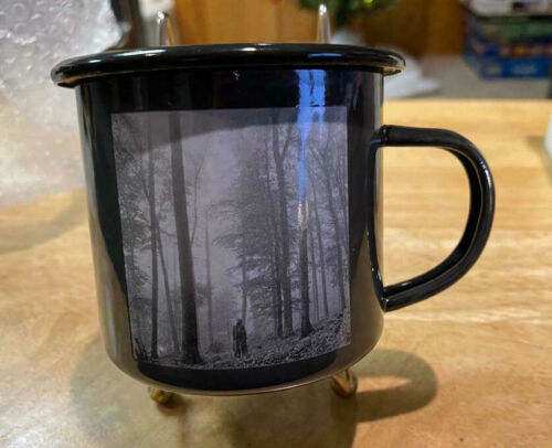TAYLOR SWIFT - FOLKLORE - IN THE TREES - METAL TIN MUG SOLD OUT RARE LIMITED