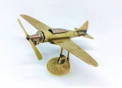 Trench Art Saab 105 Swedish High-Wing Twinjet Aircraft WW2 Shells Cartridges Toy