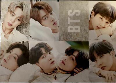 BTS 12P Posters (A3 Size) Bromide & Photo Sticker K-POP 20