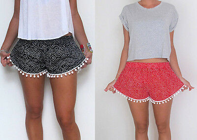 Women Girls Sexy Hot Summer Casual Shorts Short Pants High Waist Floral Beach](Hot Xl Girl)