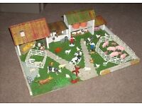 Stunning vintage wooden farm with lots of accessories