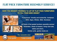 Flat pack furniture assembly service! Bedford and surrounding areas!
