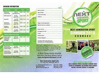 Next Generation Sport Summer Camps