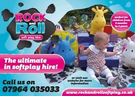 Rock and roll soft play hire Cardiff, Super cute animal themed fun!
