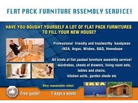 Tipton,Dudley,West Bromwich Flatpack furniture assembly service!