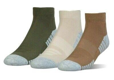 UNDER ARMOUR UA HeatGear® Tech Lo Cut Socks 3 Pack Men sz (4-8) Women sz (6-9)