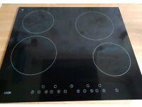 Electric Ceramic Hob - black