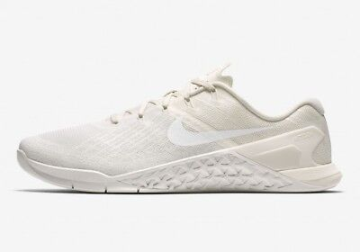 Nike Metcon 3 - UK 8.5 EUR 43 Triple White New Training 852928 101