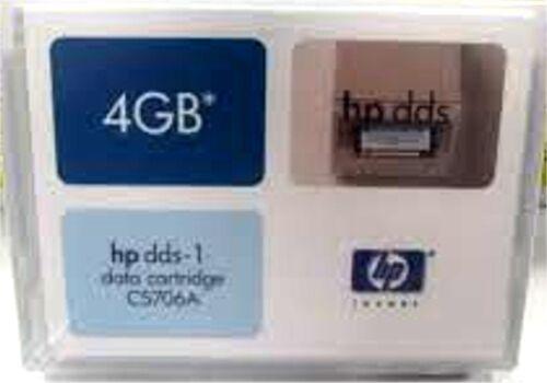 Brand NEW Genuine HP C5706A DDS-1 Data Cartridge 4GB C5706A NIP Factory Sealed!