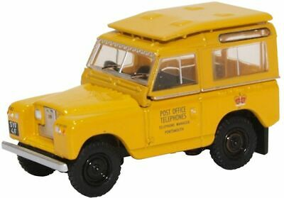 Po-telefone (Oxford 76LR2S004 Po Telefone Land Rover Sii 88 1/76 Maßstab 00 Gauge T48 Post)