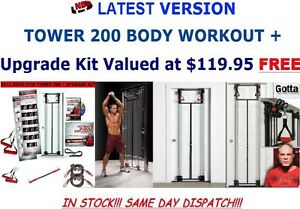 DOOR GYM TOWER 200 BODY BY JAKE STRENGTH RESISTANCE TRAINING KIT Sydney City Inner Sydney Preview