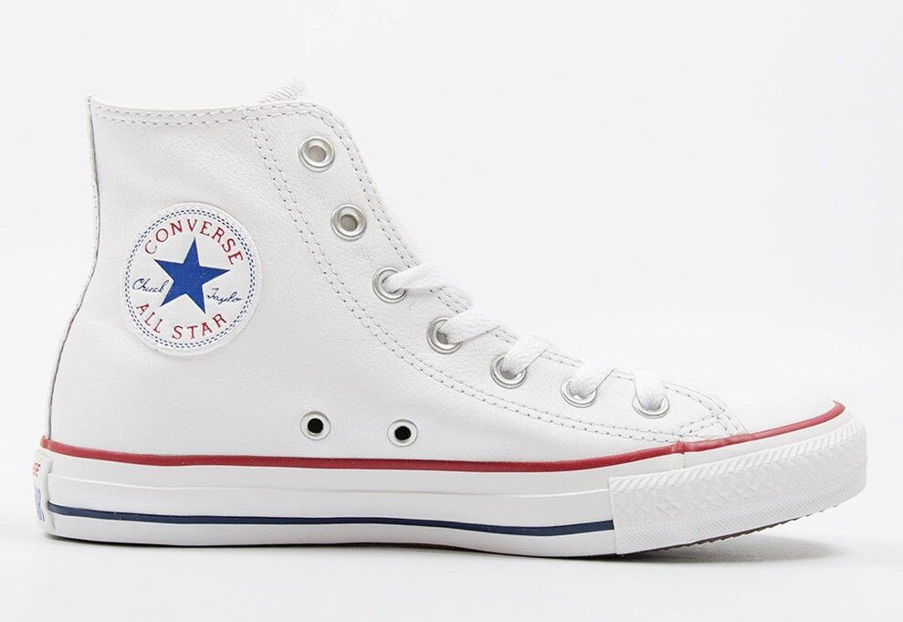 Mens Converse Chuck Taylor All Star Hi Top Leather Fashion S