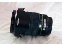 Pentax SMC-DA 16-45mm f/4 ED AL wide angle zoom lens, for K-5, K-3 etc.
