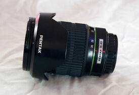 Pentax SMC-DA 16-45mm f/4 ED AL wide angle DSLR zoom lens, for K-5, K-3 etc.