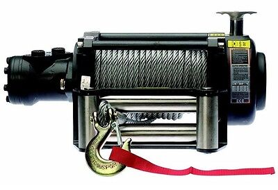 Hydraulic Winch - 12500 Or 17000 Lbs - Includes Accessories - Commercial Duty