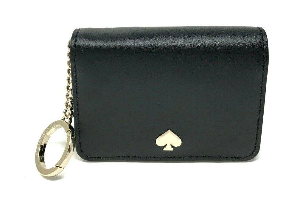 Kate Spade Nadine Slim Bifold Card Holder Wallet with Key Ri