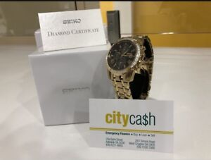 Seiko Le Grand Sport Solar Chronograph Watch West Croydon Charles Sturt Area Preview