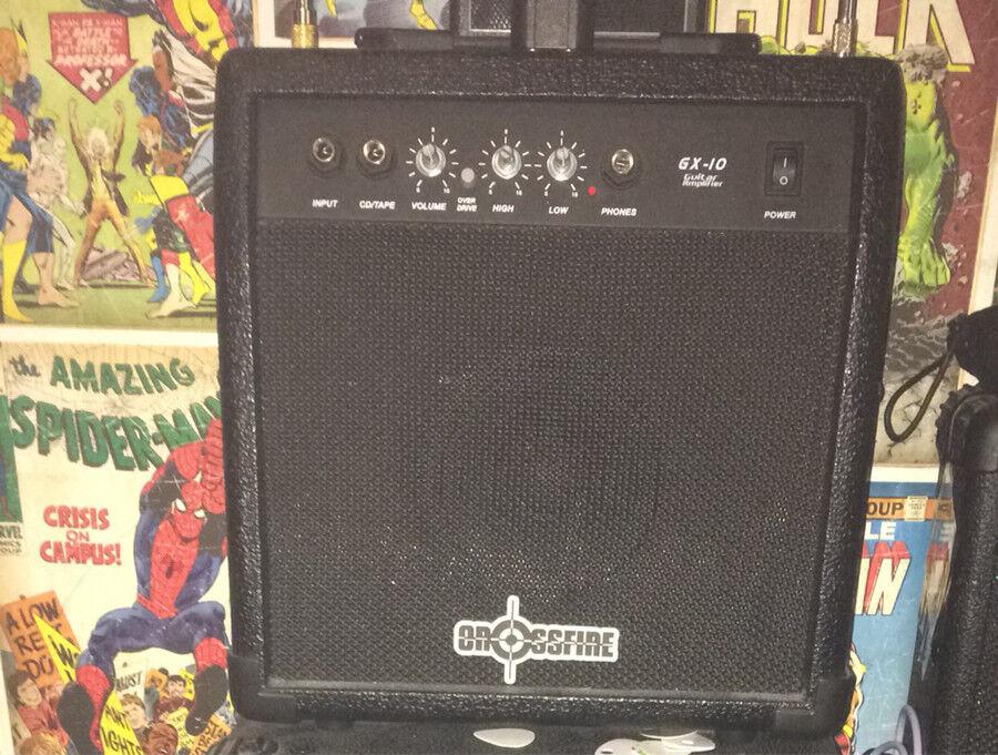 Crossfire guitar amp