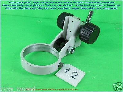 Meiji Microscope Focusing Holder Id 84mm. As Photo For Emz-13 Z-7100 Snset B.