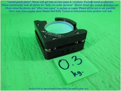 Newport P200-ai Optical Mount 1064nm Dpss Laser Mirror As Photo Lo D Dhltous