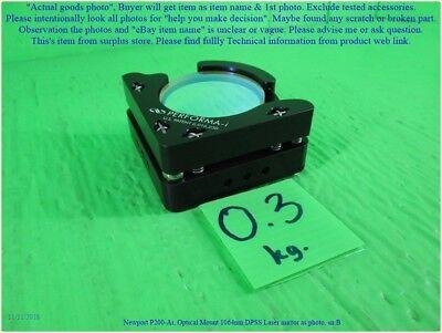 Newport P200-ai Optical Mount 1064nm Dpss Laser Mirror As Photo Set C Dhltous
