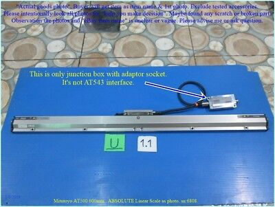 Mitutoyo At500 600mm. Absolute Linear Scale As Photo Sn6808 Tested Dhltous