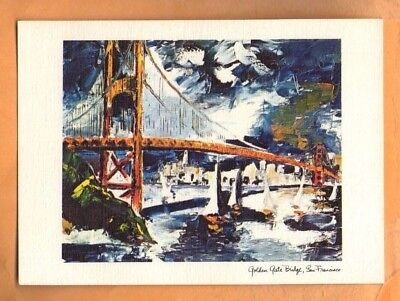 SMITH NOVELTY - PIERRE MARC PRODUCTS - GOLDEN GATE BRIDGE - 1968 UNUSED - Novelty Products