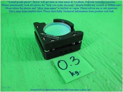 Newport P200-ai Optical Mount 1064nm Dpss Laser Mirror As Photo Set B Dhltous