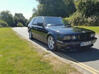 BMW E34 525i Msport manual touring retro lsd