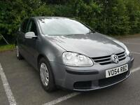 VW GOLF, 2.0 DIESEL, 6 MONTH WARRANTY, 12 MONTH MOT, GREAT LOOKING AND EXCELLENT ON FUEL