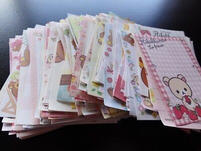 San-X Rilakkuma Bear Memo cute gift stationery paper note pad kawaii writing lot