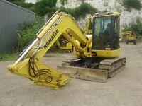 2012 Komatsu PC80 MR-3 Midi Digger / Excavator £32,450 + VAT