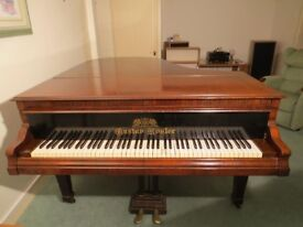 Gustav Rosler 6' grand piano 1927 looks and sounds beautiful. Bargain £750