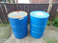 steel drum wood burner