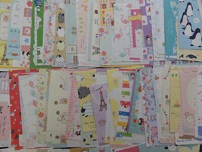 Letter Writing Set - Stationery 20 Letter Envelope Set writing paper kawaii crux japan snail mail