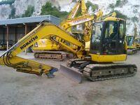 2011 Komatsu PC80MR-3 Midi Digger / Excavator £28,000 + VAT