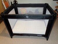 Redkite Sleeptight travel cot with Mother Nurture Coolmax mattress. Very good condition!